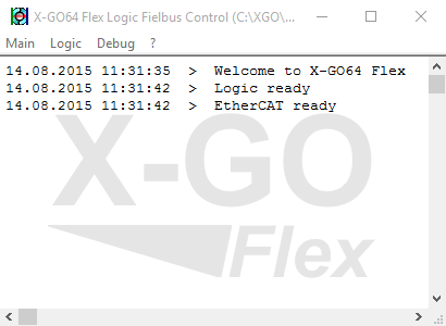Manual XGO Logic Control Master Simulator